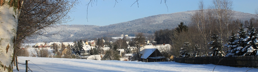 Cunewalde im Winter